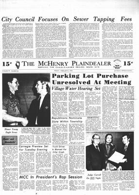 McHenry Plaindealer (McHenry, IL), 9 Feb 1973