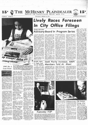 McHenry Plaindealer (McHenry, IL), 14 Feb 1973