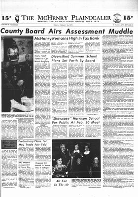 McHenry Plaindealer (McHenry, IL), 16 Feb 1973
