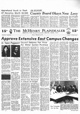 McHenry Plaindealer (McHenry, IL), 23 Feb 1973