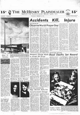 McHenry Plaindealer (McHenry, IL), 28 Feb 1973