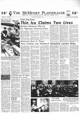 McHenry Plaindealer (McHenry, IL), 7 Mar 1973