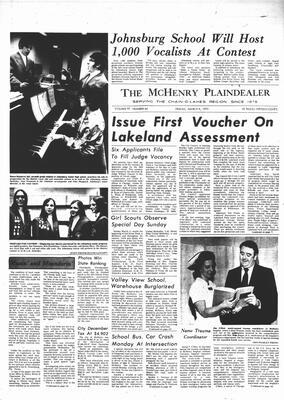 McHenry Plaindealer (McHenry, IL), 9 Mar 1973