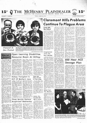 McHenry Plaindealer (McHenry, IL), 16 Mar 1973