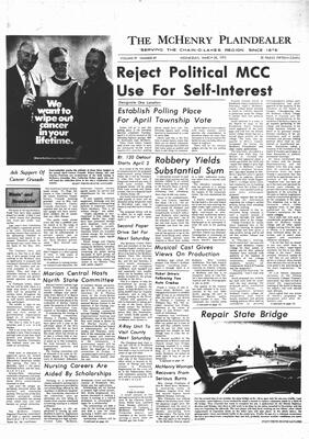 McHenry Plaindealer (McHenry, IL), 28 Mar 1973