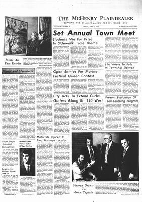 McHenry Plaindealer (McHenry, IL), 6 Apr 1973
