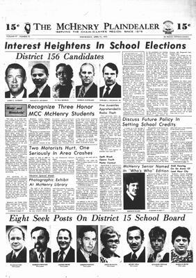 McHenry Plaindealer (McHenry, IL), 11 Apr 1973