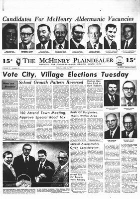 McHenry Plaindealer (McHenry, IL), 13 Apr 1973