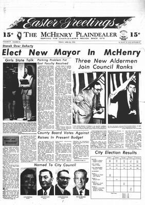 McHenry Plaindealer (McHenry, IL), 20 Apr 1973