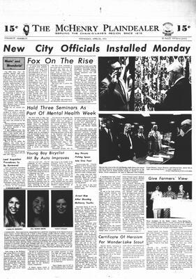McHenry Plaindealer (McHenry, IL), 25 Apr 1973