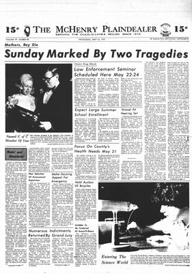 McHenry Plaindealer (McHenry, IL), 16 May 1973