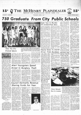 McHenry Plaindealer (McHenry, IL), 6 Jun 1973