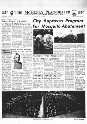 McHenry Plaindealer (McHenry, IL), 8 Jun 1973