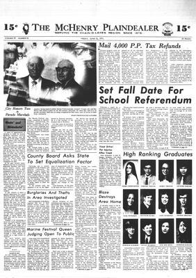 McHenry Plaindealer (McHenry, IL), 15 Jun 1973