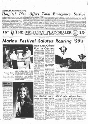 McHenry Plaindealer (McHenry, IL), 3 Jul 1973