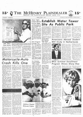 McHenry Plaindealer (McHenry, IL), 6 Jul 1973