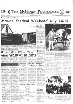 McHenry Plaindealer (McHenry, IL), 11 Jul 1973