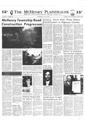 McHenry Plaindealer (McHenry, IL), 25 Jul 1973