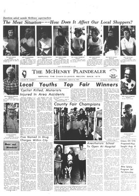 McHenry Plaindealer (McHenry, IL), 8 Aug 1973