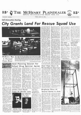 McHenry Plaindealer (McHenry, IL), 24 Aug 1973
