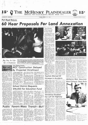 McHenry Plaindealer (McHenry, IL), 31 Aug 1973