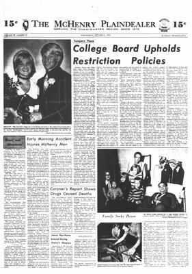 McHenry Plaindealer (McHenry, IL), 3 Oct 1973