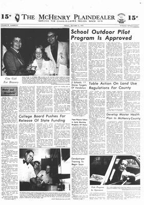 McHenry Plaindealer (McHenry, IL), 12 Oct 1973