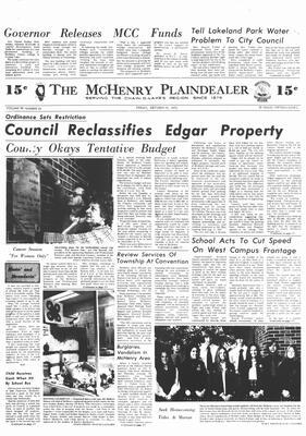 McHenry Plaindealer (McHenry, IL), 19 Oct 1973