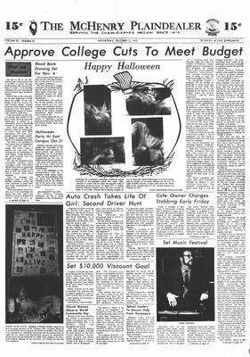 McHenry Plaindealer (McHenry, IL), 31 Oct 1973