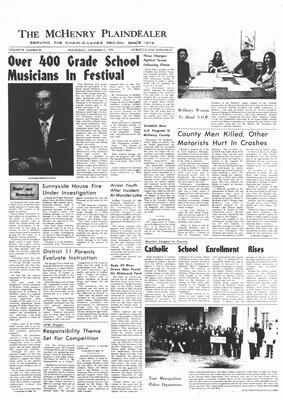 McHenry Plaindealer (McHenry, IL), 7 Nov 1973