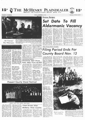 McHenry Plaindealer (McHenry, IL), 9 Nov 1973