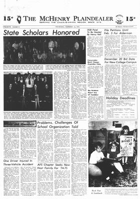 McHenry Plaindealer (McHenry, IL), 14 Nov 1973