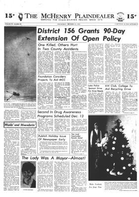 McHenry Plaindealer (McHenry, IL), 12 Dec 1973