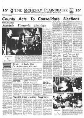McHenry Plaindealer (McHenry, IL), 14 Dec 1973