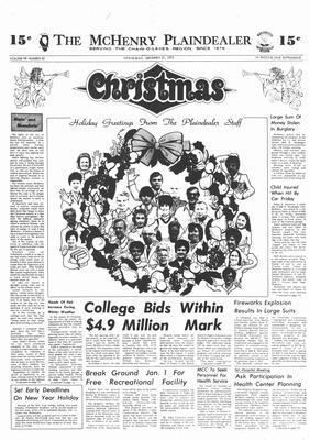 McHenry Plaindealer (McHenry, IL), 27 Dec 1973