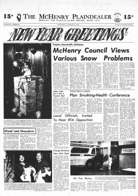 McHenry Plaindealer (McHenry, IL), 2 Jan 1974