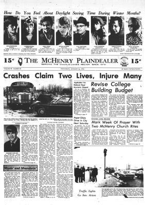 McHenry Plaindealer (McHenry, IL), 16 Jan 1974