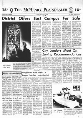 McHenry Plaindealer (McHenry, IL), 18 Jan 1974