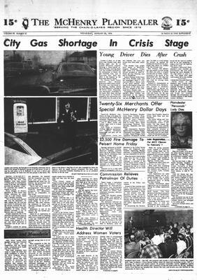 McHenry Plaindealer (McHenry, IL), 30 Jan 1974