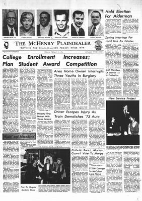 McHenry Plaindealer (McHenry, IL), 1 Feb 1974