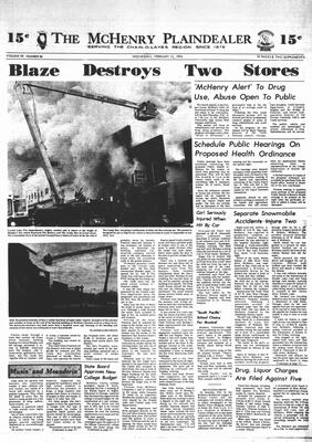 McHenry Plaindealer (McHenry, IL), 13 Feb 1974
