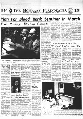 McHenry Plaindealer (McHenry, IL), 6 Mar 1974