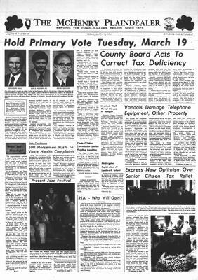 McHenry Plaindealer (McHenry, IL), 15 Mar 1974