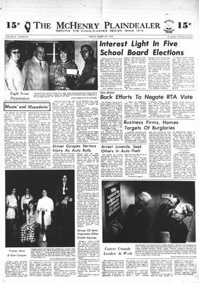 McHenry Plaindealer (McHenry, IL), 29 Mar 1974