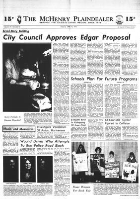 McHenry Plaindealer (McHenry, IL), 19 Apr 1974