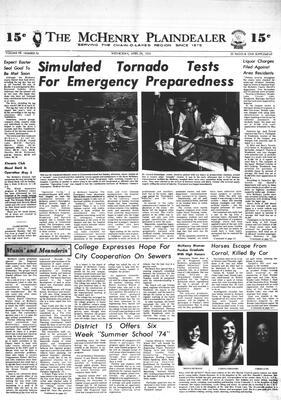 McHenry Plaindealer (McHenry, IL), 24 Apr 1974