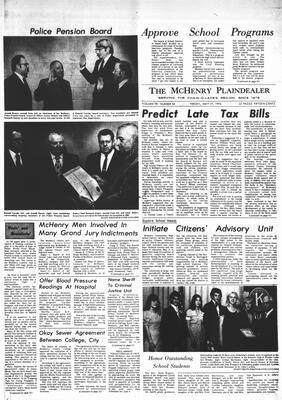 McHenry Plaindealer (McHenry, IL), 17 May 1974