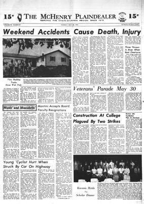 McHenry Plaindealer (McHenry, IL), 28 May 1974