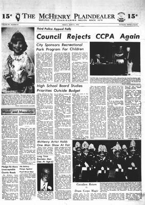McHenry Plaindealer (McHenry, IL), 21 Jun 1974