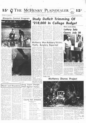 McHenry Plaindealer (McHenry, IL), 26 Jul 1974